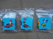 NUOVO Lego City Scena di Natale Babbo Natale Motoslitta consegna SANTA SKIDOO presenta