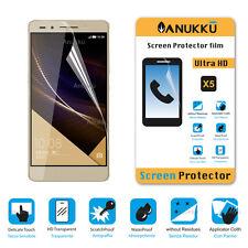 3x PELLICOLA per Huawei Honor 7 FRONTE + PANNO PROTETTIVA DISPLAY