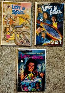 Innovation Comics Lost in Space #1-5 - VF/NM