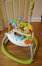 Fisher Price Rainforest Friends Spacesaver Jumperoo activity centre bouncer baby