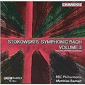 Stokowski's Symphonic Bach, Vol. 2, BBC Philharmonic Orchestra, Audio CD, New, F