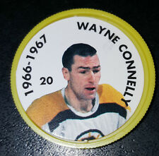 WAYNE CONNELLY NO. 20 1966-67  BOSTON BRUINS 1995-96 PARKHURST HOCKEY COIN