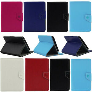 PU Leather Flip Tablet Case Cover Smart Stand For Lenovo Tab M7 M8 M10 E7 E8 E10