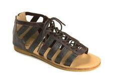 Zip Flat (0 to 1/2 in.) Leather Casual Sandals & Flip Flops for Women