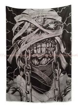 hippie trippy wall decor for sale Eddie Iron Maiden tapestry cloth poster