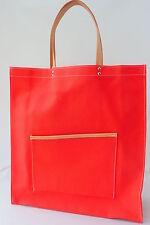 Unifarbene Damentaschen aus Canvas/Segeltuch ohne Verschluss