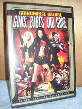Grindhouse Galore: Guns, Babes and Gore (DVD, 2013, 2-Disc Set)