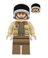 Lego Captain Antilles 75244 Dark Tan Shirt Star Wars Minifigure