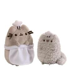 Gund 4059127 Pusheen and Stormy Cat Baking Chef Collectable Set Soft Toy Plush