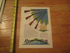 1930  Remington Gun Camel Cigarette magazine advertising full page ad