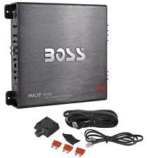 Boss R2400D 2400 Watt Mono Block Car Audio Class D Power Amplifier/Amp+Bass Knob