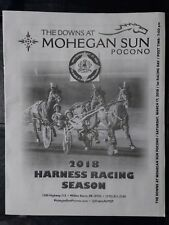 Pocono Downs 2018 Opening Night Program - Saturday, March 17th - Harness Racing