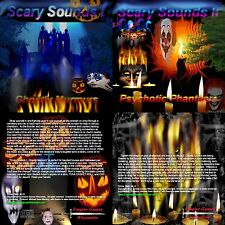 scary sounds i ii 2 halloween horror sound effects cds