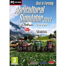 Agricultural Simulator 2012 (PC CD) PC 100% Brand New