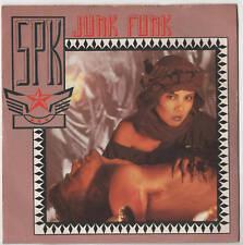 """SPK - Junk Funk 7"""" Single 1984"""