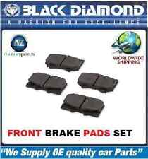 FOR AUDI A8 2.5TDI 1998-2003 V6 NEW BLACK DIAMOND FAST ROAD FRONT PADS SET