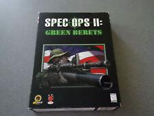 Spec Ops II: Green Berets  WIN 95/98 CD-ROM   Big Box    NIB