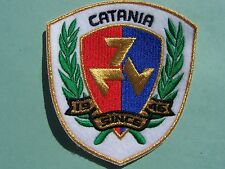 TOPPA RICAMATA scudo CATANIA SINCE 1946 PATCH ULTRAS STADIO  embroidery