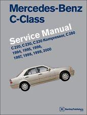 BENTLEY REPAIR MANUAL MERCEDES-BENZ C220 C230 C280 W202