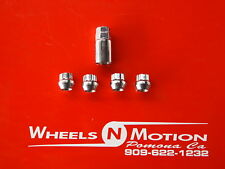 7/16 INCH wheel Locks  set of 4 with 1 key    open end