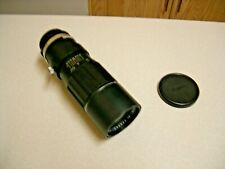 Vintage Soligor 300mm f/5.5 Telephoto Lens - M42 Mount