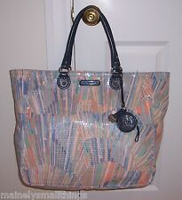 NWT Juicy Couture DUSK TILL DAWN SUNBURST Extra Large Tote Bag SEQUINS YHRU2514