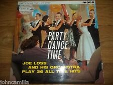 JOE LOSS AND HIS ORCHESTRA - PARTY DANCE TIME LP - HIS MASTER'S VOICE - CLP 1400