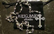$1620 King Baby Studio Skull & Traditional Cross Rosary