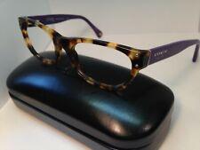 Coach Eyeglasses HC 6034 5103 Topaz Spotty Tortoise Purple 52-17-135