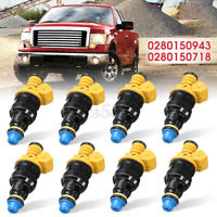 8x Fuel Injectors For Ford F150 F250 F350 V8 5.0 5.8 4.6 5.4L Lincoln Mustang US