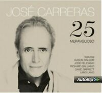 JOSE CARRERAS - 25  CD NEW+
