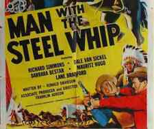 MAN WITH THE STEEL WHIP, 12 CHAPTER SERIAL, 1954