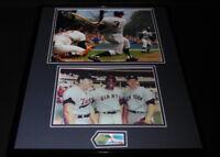 Harmon Killebrew Signed Framed 16x20 Photo Set Twins w/Mickey Mantle+Willie Mays