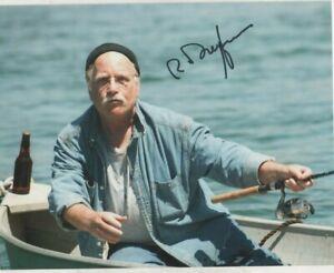 10 x 8 high quality photo  hand signed RICHARD DREYFUSS   - AFTAL COA  -