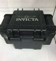 Invicta Impact Resistant Watch Collector Black Box Scuba Storage Case