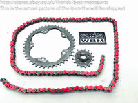 MV Agusta F3 675 Brutale (1) 13' Front and Rear Sprockets Chain