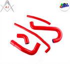 For ALFA ROMEO ES-30 3.0 V6 89-91 SZ/ 92-93 RZ Silicone Radiator Hoses Kit Red