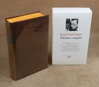 LA PLEIADE : JEAN-PAUL SARTRE / THEATRE COMPLET - 2005