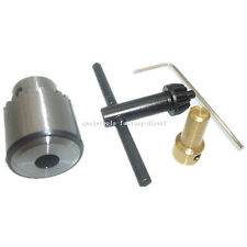 0.3mm-4mm Electric Drill Chuck Key JT0 taper Spanner + 3.17mm Brass Motor Shaft