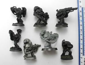 7 SPACE MARINES inc Devastators Plastic Marine Army Squad Warhammer 40K 77