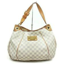 Auth Louis Vuitton Galliera Pm Shoulder Bag White Damier Azur #5598L49