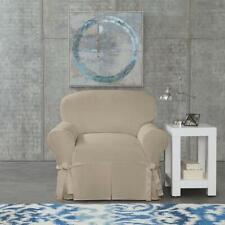 Sure Fit Designer Twill Chair Slipcover Color Linen