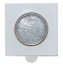 Rare XF British India George VI 1938 Bombay One Rupee KM#555 Silver Coin 11,66gr