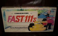 VINTAGE 1981 PARKER BROTHERS FAST 111's RACING BOARD CAR GAME 100% COMPLETE TOY