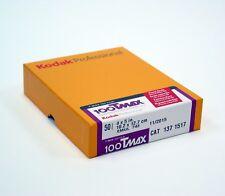 """Kodak TMax 100 4x5"""" ( 50 Sheets ) Black & White Film. Brand New. #Filmisnotdead"""