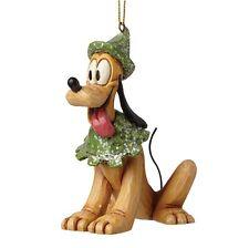 Disney Sugar Coated Pluto Hanging Figurine Christmas Decoration A28241