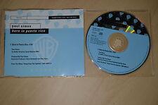 Paul Simon - Born in Puerto Rico. CD-Single promo (CP1704)