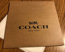 "Coach Gift Box 6"" X 4.5"" X 2"" Brown Gift Box NEW With Tissue Paper"