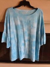 Women's Clothing 2X Calvin Klein Performance TIE DYE Knit Top