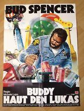 Filmposter * Kinoplakat * A1 * Buddy haut den Lukas * EA 1980 * Bud Spencer